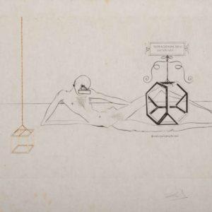 Salvator Dalì, L'Immortalitè Tetraedrique du Cube