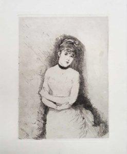 De Nittis, Jeune Femme