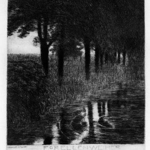 Franz Von Stuck, Forellenweiher