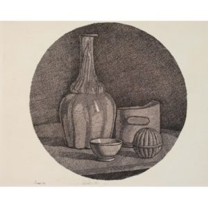 Giorgio Morandi, Grande Natura Morta Circolare