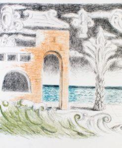 Giorgio de Chirico Villa Sul Mare