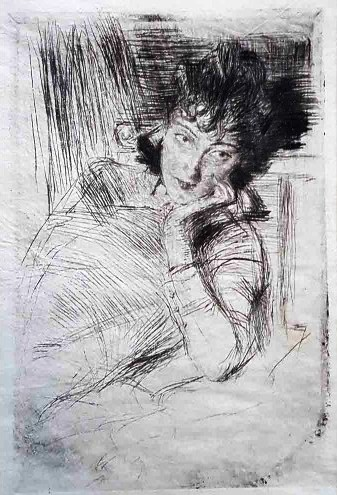 Giovanni Boldini, Pensatrice