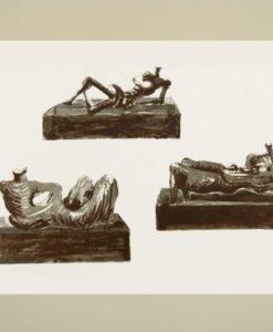 Henry Moore, Three Reclining Figures