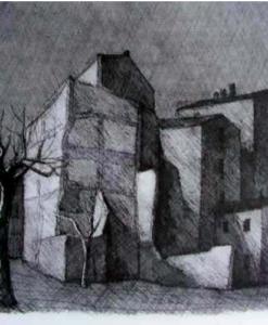 Paolo Manaresi Paesaggio Bolognese