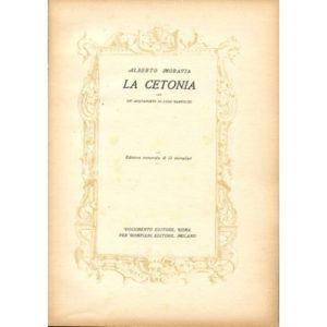 A. Moravia La Cetonia