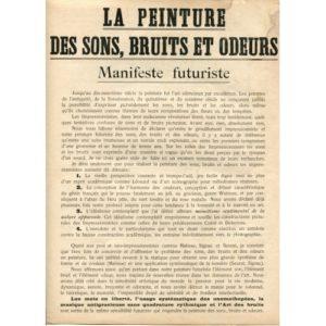 Carlo Carrà - La Peinture des Sons, Bruits et Odeurs