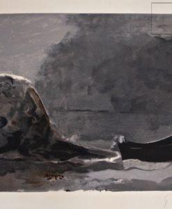 Georges Braque, Marine Noire SOLD