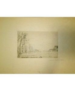 James Ensor, Lisière du Petit Bois, Ostende
