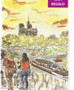 70111_Carlo Mazzoni, Bateau-mouche à Notre Dame IDEA REGALO