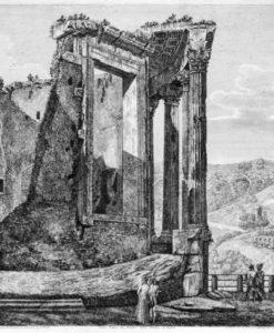 J-77262 Rossini Altra Veduta del Tempio della Sibilla in Tivoli low